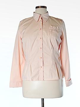 Apriori Long Sleeve Button-Down Shirt Size 16