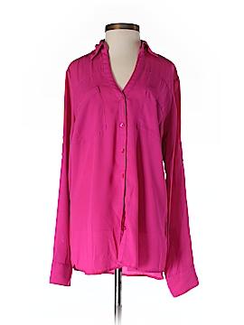 Express Long Sleeve Button-Down Shirt Size S (Petite)