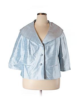 Lafayette 148 New York Silk Blazer Size 20 (Plus)