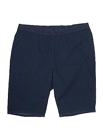Denim 24/7 Denim Shorts Size 26 W (Plus)