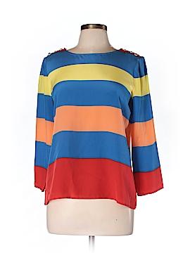 J. Crew 3/4 Sleeve Silk Top Size 12 (Petite)