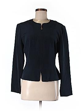 Maggy London Silk Blazer Size 8