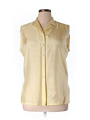Basler Sleeveless Silk Top Size 40 (IT)