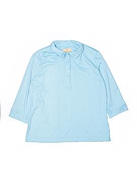 Sport Haley Long Sleeve Blouse Size L