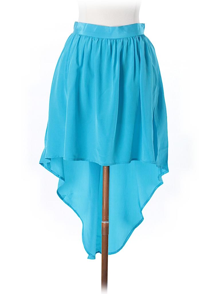 Amanda Uprichard Women Silk Skirt Size M