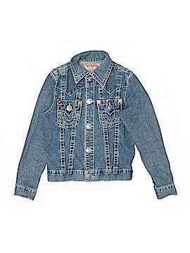 True Religion Denim Jacket Size L (Youth)