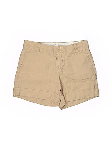 Banana Republic Women Khaki Shorts Size 2