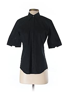 DKNY Short Sleeve Button-Down Shirt Size 4