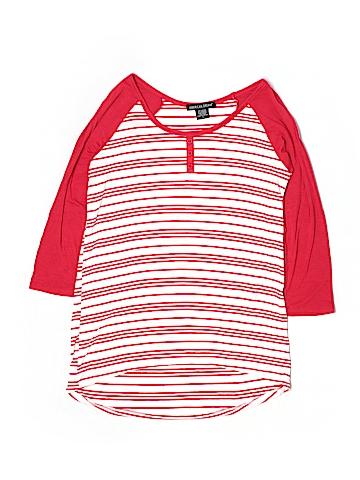 American Dream 3/4 Sleeve Henley Size L