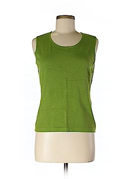 Jones New York Collection Sleeveless Silk Top Size M (Petite)
