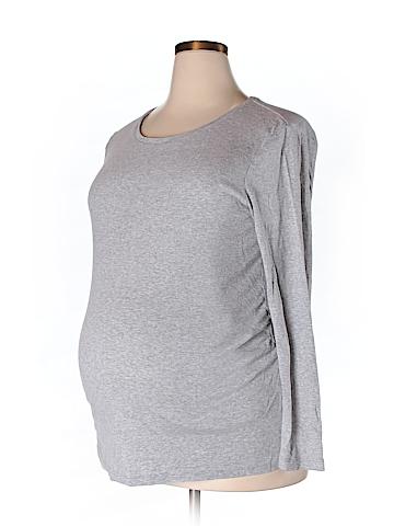 Gap - Maternity Long Sleeve T-Shirt Size XXL (Maternity)