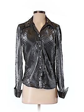 Serenade Long Sleeve Button-Down Shirt Size S