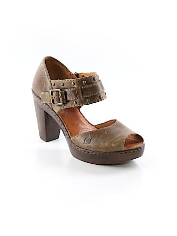 Born Handcrafted Footwear Heels Size 9