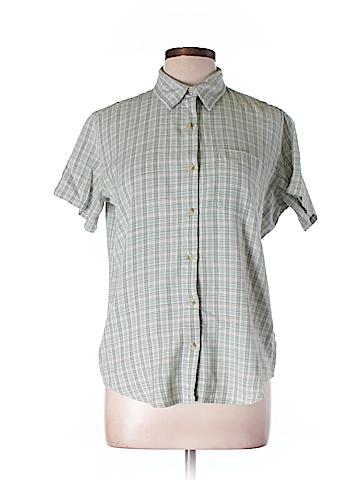 Columbia Short Sleeve Button-Down Shirt Size L
