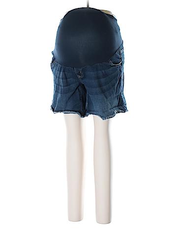 Indigo Blue Denim Shorts Size XL (Maternity)