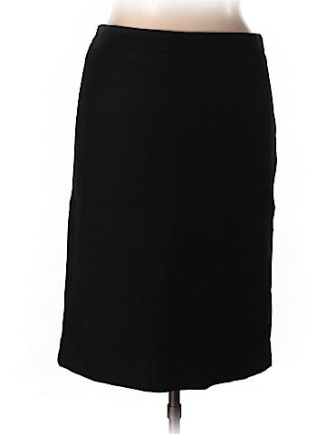 J. Crew Women Wool Skirt Size 14 (Tall)