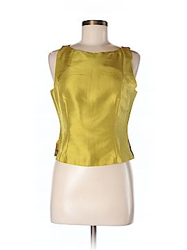Silk Box Sleeveless Silk Top Size 8