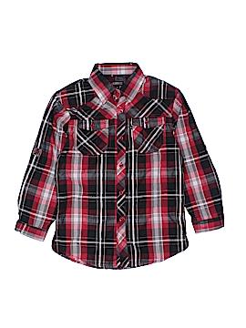 Gioberti Long Sleeve Button-Down Shirt Size 8