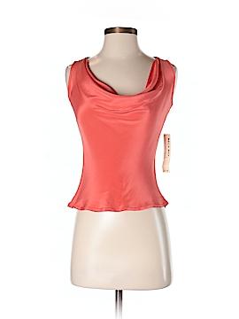 Silk Box Sleeveless Silk Top Size 2
