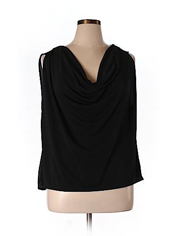 Robert Rodriguez Women Short Sleeve Blouse Size XL