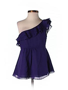 Armani Exchange Sleeveless Silk Top Size XS