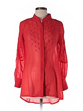 Roar Long Sleeve Blouse Size M