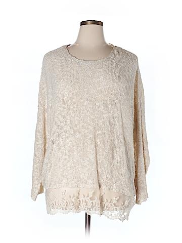 Olivia Sky Pullover Sweater Size 1X (Plus)