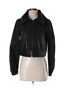 DKNY Leather Jacket Size 6