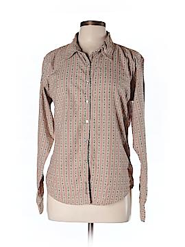 Cloudveil Long Sleeve Button-Down Shirt Size L