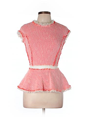 Rebecca Taylor Short Sleeve Blouse Size 10