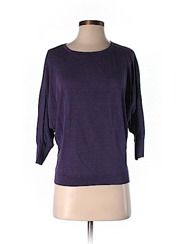 Lafayette 148 New York Silk Pullover Sweater Size M