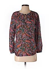 J. Crew Women Long Sleeve Blouse Size 2