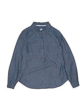 TOMS Long Sleeve Button-Down Shirt Size M (Kids)