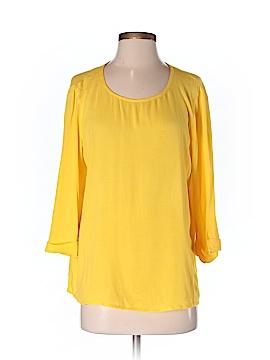 Ella Moss 3/4 Sleeve Blouse Size S
