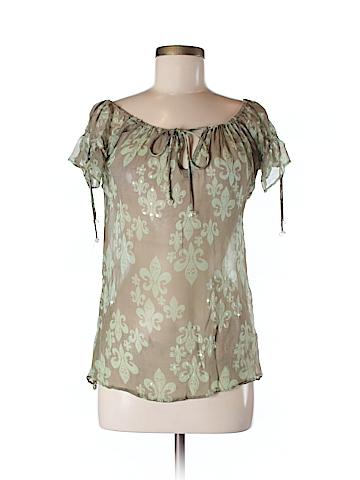 Letarte Short Sleeve Blouse Size M