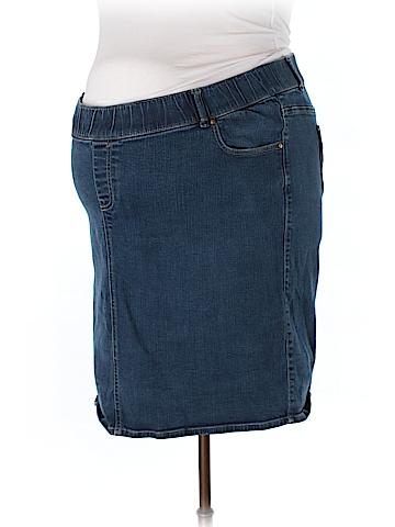 Old Navy - Maternity Denim Skirt Size XXL (Maternity)