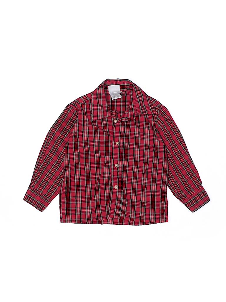 Goodlad Of Philidelphia Boys Long Sleeve Button-Down Shirt Size 3T