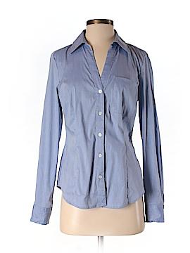 INC International Concepts Long Sleeve Button-Down Shirt Size 4