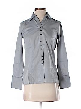 Oobe Long Sleeve Button-Down Shirt Size XXS