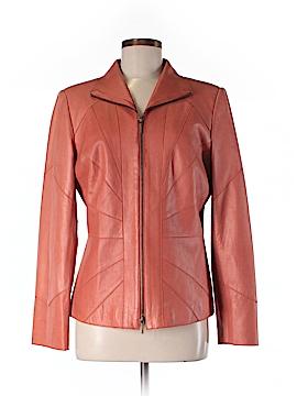 Jana Kos Leather Jacket Size M