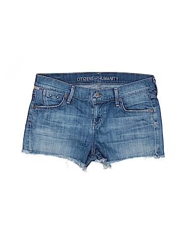 Citizens of Humanity Women Denim Shorts 25 Waist