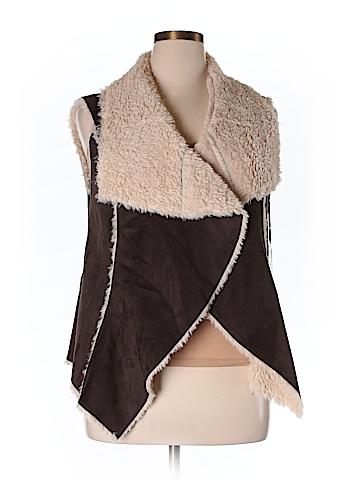 Knox Rose Faux Fur Vest Size XXL