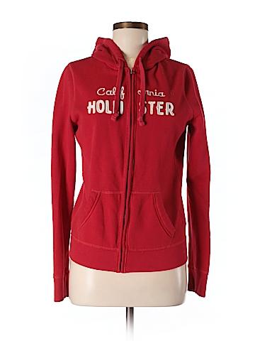 Hollister Zip Up Hoodie Size L