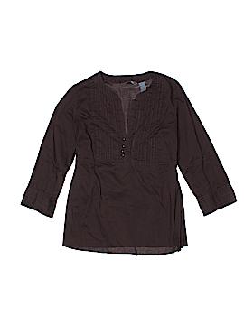 Hillard & Hanson 3/4 Sleeve Blouse Size S