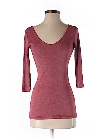 Michael Stars 3/4 Sleeve T-Shirt One Size