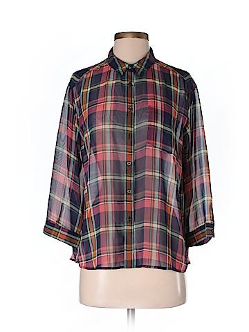 Uniqlo Women 3/4 Sleeve Blouse Size M