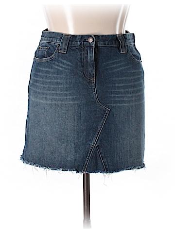 J. Crew Factory Store Denim Skirt 33 Waist