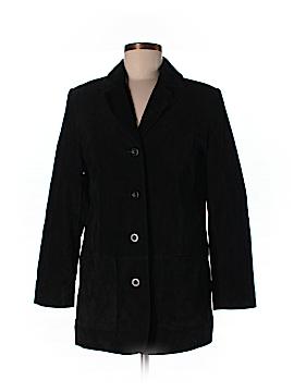 Valerie Stevens Leather Jacket Size 4