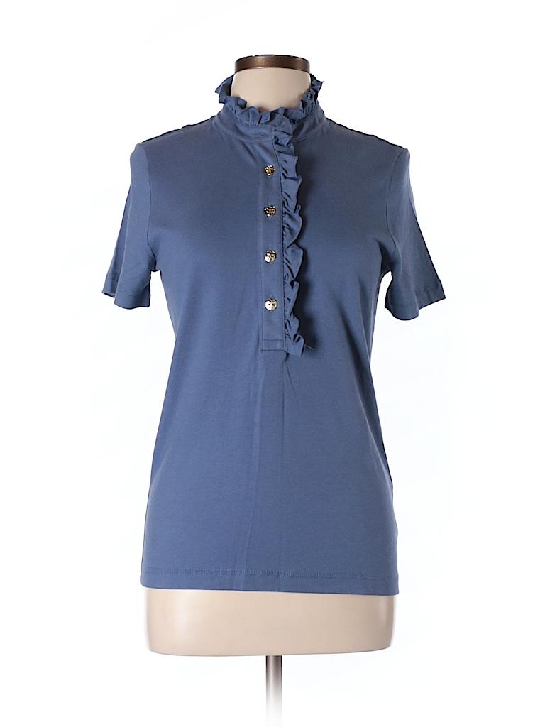 Tory burch short sleeve button down shirt 78 off only for Tory burch button down shirt