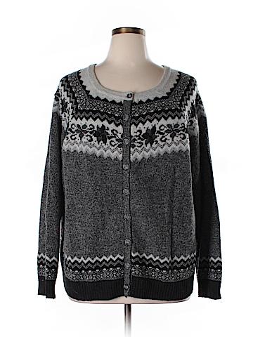 Eddie Bauer Wool Cardigan Size 4X (Plus)